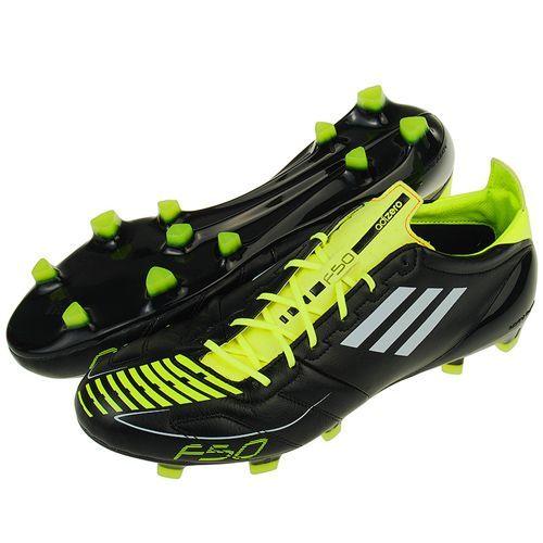 fa30a29a Бутсы футбольные Adidas F50 adiZero TRX FG (Lea) (черный/желтый ...