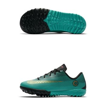 Детские шиповки NIKE VAPORX 12 ACADEMY PS CR7 TF JR