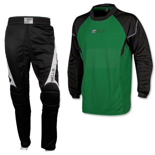 Детская вратарская форма SELLS Reflex (штаны+свитер)(зеленый ... aac0d97c3c34f